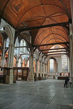 Oude Kerk, Interior, Amsterdam