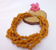Hey, I found this really awesome Etsy listing at https://www.etsy.com/listing/200547613/knotted-yarn-collar-necklace-cotton