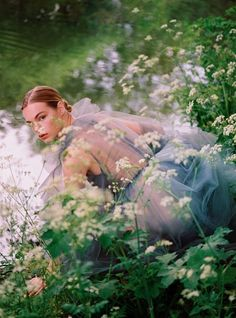 Photos of Majesty and Meadowsweet: editorial with Estella Boersma (Model), Betina duToit (Photographer), Miranda Almond (Wardrobe Stylist), Rebecca Wordingham (Makeup Artist), Bjorn Krischker (Hair Stylist) for Harper's Bazaar UK September Nature Editorial, Editorial Photography, Editorial Fashion, Portrait Photography, Summer Editorial, Vogue Editorial, Glamour Photography, Nature Photography, Wedding Photography