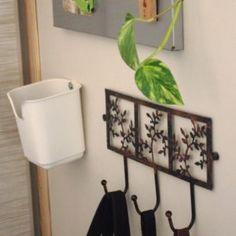Les feuilles dans tous leurs états dans la maison   Inspiration Nature Decoration, Entryway Bench, Bathroom Hooks, Inspiration, Interior, Furniture, Home Decor, Leaves, House