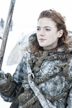 Ygritte,Game of Thrones.  Apparently I remind a certain someone of this girl.  Does that mean I am a bitch?