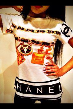 Urban Fashion Chanel shirt