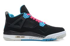 Find Air Jordans 4 Retro \u201cSouth Beach\u201d Black/Dynamic Blue-White-Vivid Pink For  Sale Lastest online or in Pumarihanna. Shop Top Brands and the latest  styles ...