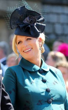 Zara Tindall from All the Fascinators at the Royal Wedding 332255ec4772
