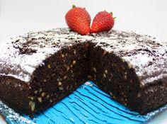 Torta vegana di cioccolato e mandorle - Bunny Mommy Cooks Raw Vegan, Raw Food Recipes, Desserts, Diets, Tailgate Desserts, Deserts, Raw Recipes, Postres, Dessert