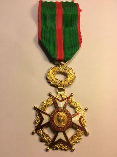French National Order of Merit cross - Croix de l'ordre du mérite philanthropique