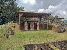 El Parque Arqueológico de San Agustín está conformado por 4 mesitas, un terraplén artificial, el Bosque de las Estatuas, el Alto de Lavapatas y la Fuente Ceremonial.    #CambiaTuNorte,#VenAlHuila