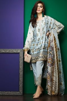 efe842add2 Khaadi Latest Summer Lawn Dresses Designs Collection consists of best  printed & embroiderd 2 pc, 3 piece suits, kurtis and single shirts!