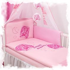 6 Stück Babybettwäsche Sets aus 100% Baumwolle 120x90cm(Rosa Bär) sweetbabydream http://www.amazon.de/dp/B01BQFM4QK/ref=cm_sw_r_pi_dp_hrf0wb0E8YNCD