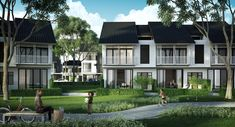 GSD Architect - Architect Located In Kuala Lumpur, Malaysia Cluster House, Shophouse, Townhouse Designs, Industrial Park, Modern Asian, Property Development, Terraces, Residential Architecture, Condominium