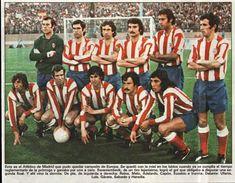 Atético de Madrid. Final Copa de Europa 1974