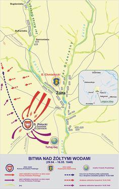 battle of Zolte Wody_1648 plan