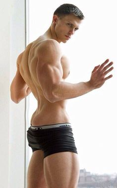 He's got an Awesome physique!!