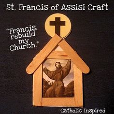 St. Francis of Assisi Craft {Plus, a few thoughts on our new Pope} ~ Catholic Inspired