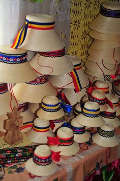 Hats from Rumania