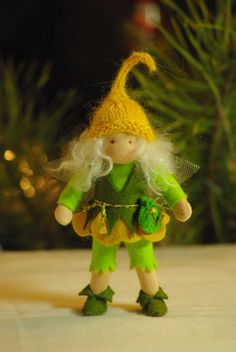 Elf Waldorf doll // gift for girl by TaleWorld on Etsy