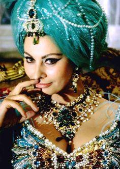 Sophia Loren turbante