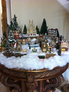 Dickens Village Foyer Table