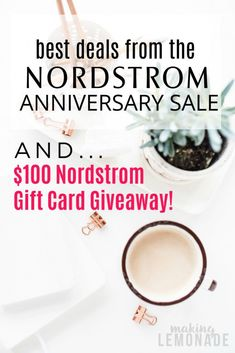 here's a hand-picked list of the best deals from the Nordstrom Anniverary Sale! #nsale