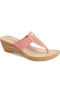 65f93b3546e8e4 Bella Vita  Sulmona  Wedge Sandal (Women)