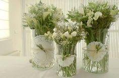 Flores blancas | Boda Erika y Juan | Pinterest