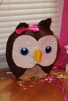 "Photo 19 of 47: Owls / Birthday ""Isabella's 1st Owl Birthday"" | Catch My Party"