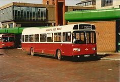 Bus Photo - Midland Red West 649, Leyland National ex Ribble, in Redditch | eBay