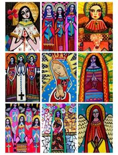 Mary Guadalupe Mexican Folk Art