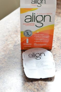 """""""My husband even wants to try it now because of the results I'm getting! I really love that it benefits my family who suffers with GI issues. All you have to do is take one capsule per day. Viola!"""" #DRAlign #shop #cbias"""