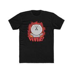Men's Cotton Crew Tee Fever Cat   Etsy Trending Outfits, Cotton, Mens Tops, T Shirt, Etsy, Fashion, Supreme T Shirt, Moda, Tee Shirt