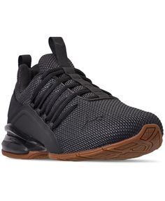 It doesn't get much better the premium styling of the Puma Men's Axelion Running Sneakers. These beauties provide a modern look and all-day comfort, both of whi Pumas Shoes, Shoes Heels Boots, Nike Shoes, Dress Boots, Mens Puma Shoes, Puma Mens, Puma Sneakers For Men, Running Sneakers, Running Shoes