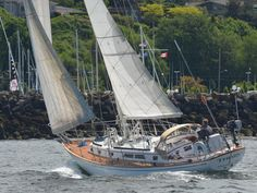 Mason 44 Sailboat. One of my favorite cruising boats, Well designed, strongly built, and well commisioned. McC