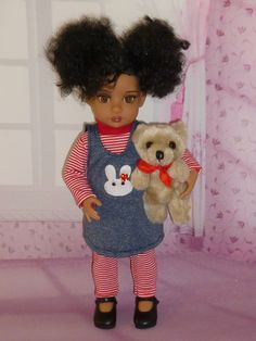 https://flic.kr/p/rFJtPi   Tonner Trixie (Patsy) Doll   Trixie with her teddy bear