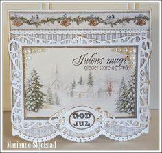 Mariannes papirverden.: Glistening Season - Pion Design
