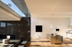 Mai Mai House project (a modern home) is a two bedroom residence located in Auckland, New Zealand and designed by Patterson Associates. World Architecture Festival, Modern Architecture, Ultra Modern Homes, Two Bedroom, Home Projects, Future House, Home Improvement, Contemporary, Furniture