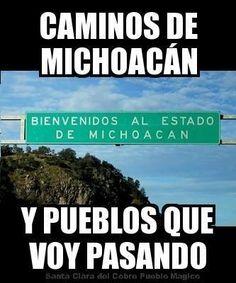Caminos de Michoacan :)