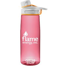 Hydrated bodies are alert and refreshed thanks to CamelBak logo water bottles!