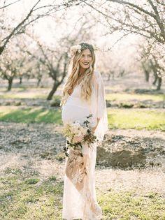 платья для беременных на свадьбу фото