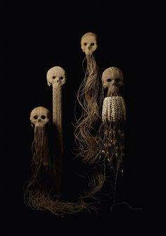 Textile Art. Very Spooky.
