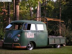 so cool Volkswagen Germany, Volkswagen Bus, Vw T1, Vw Kombi Van, Kombi Camper, Campers, Kombi Pick Up, T2 Bus, Bus Girl