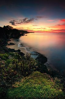 TEGAL WANGI BEACH at : 7.07PM | by ManButur PHOTOGRAPHY #Bali #Beautiful_Places #YourNewRoommate