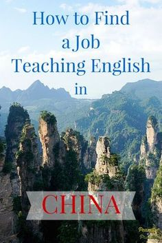 How to Find a job teaching English in China (from our own experience)!