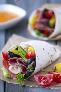 """Zesty Italian Wrap....""""You'll want to do away with that hoagie roll when you get a taste of this wrapped classic."""""""