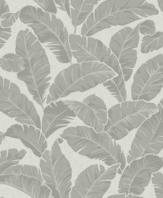 Mustique Silver wallpaper by Sophie Conran