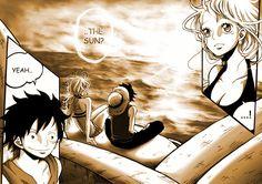 Luffy x Nami Zoro And Robin, Luffy X Nami, One Piece Ship, 0ne Piece, The Masterpiece, Deviantart, Its A Wonderful Life, Anime, Doujinshi