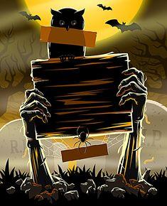 Halloween Bingo, Halloween Poster, Halloween 2017, Holidays Halloween, Spooky Halloween, Happy Halloween, Halloween Decorations, Halloween Illustration, Halloween Drawings