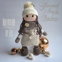 Christmasdoll Made with love . by Evy
