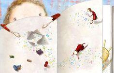 I migliori sabato mattina sono quelli dal profumo di libri illustrati. http://ilmostrosulcomodino.blogspot.fr/ , @ilblogdigelo.