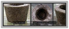 Handcrafted Concrete Planter  Mini  Outdoor by DanDoroArtAndDesign, $6.00
