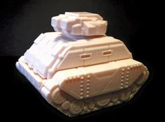 Gilgamesh Pattern Battle Tank (18mm scale) by dutchmogul.